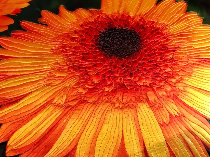 Yellow-Orange Marigold by Teresa Schlabach
