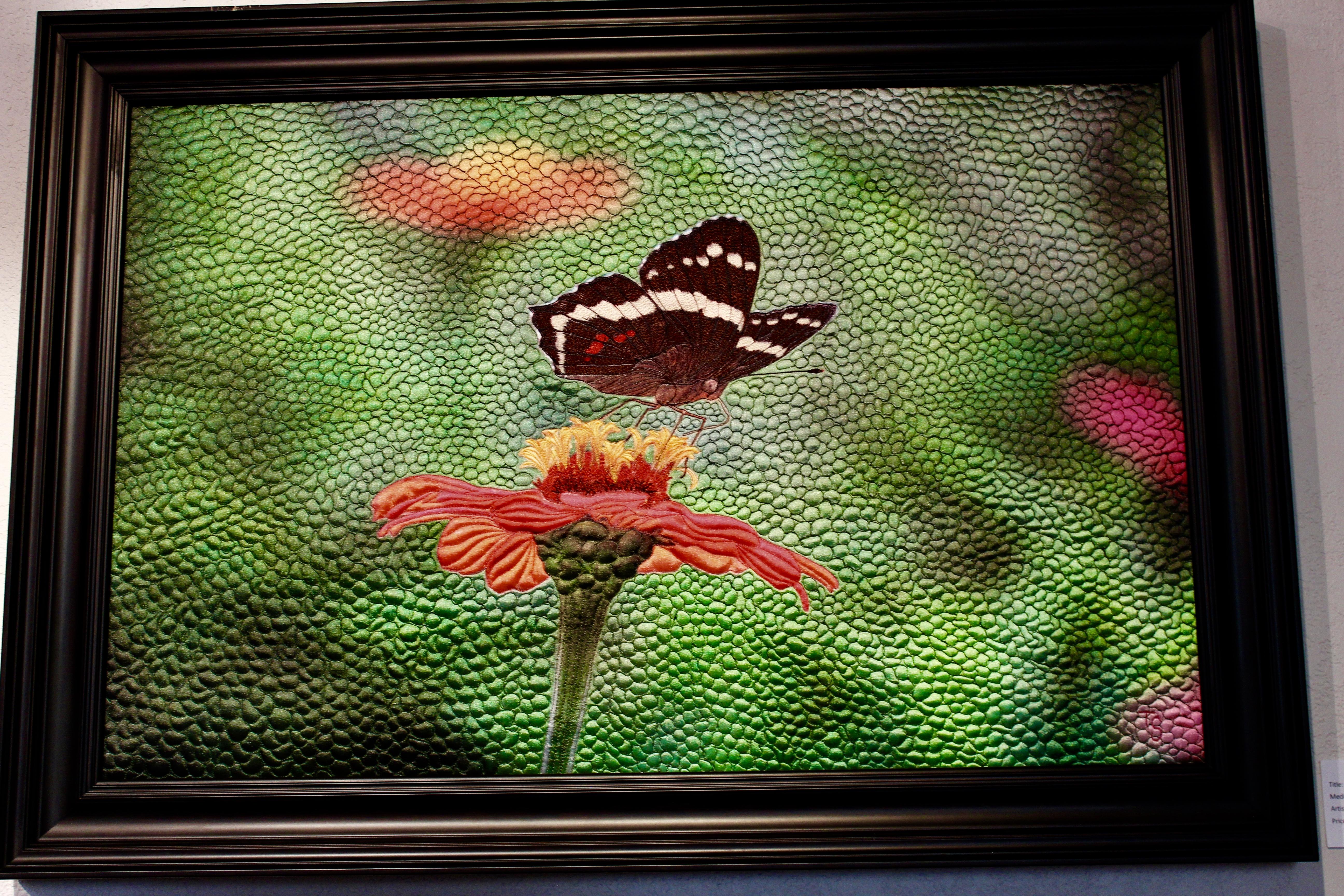 Butterfly Landing by Teresa Schlabach
