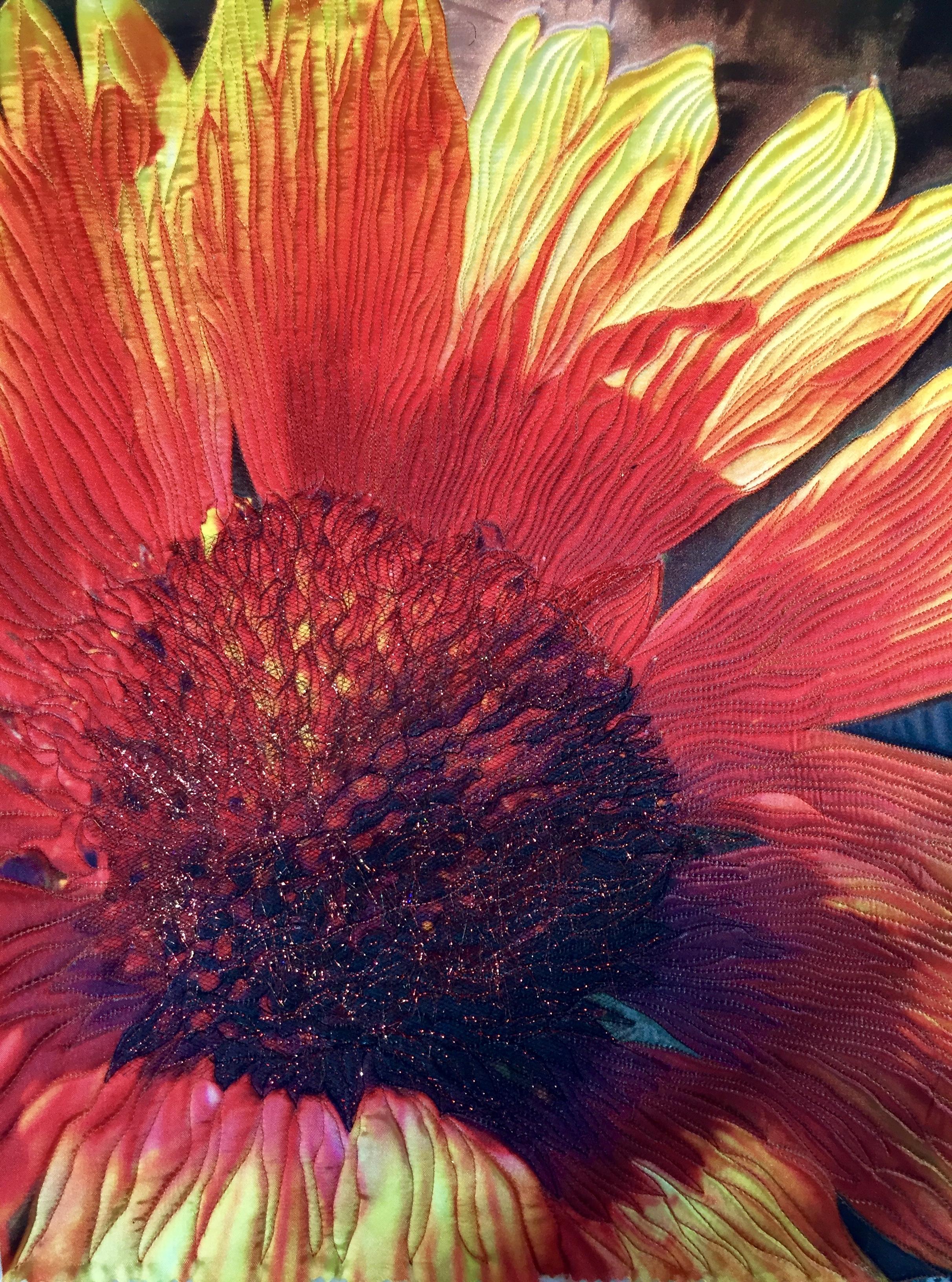 Red Flora by Teresa Schlabach