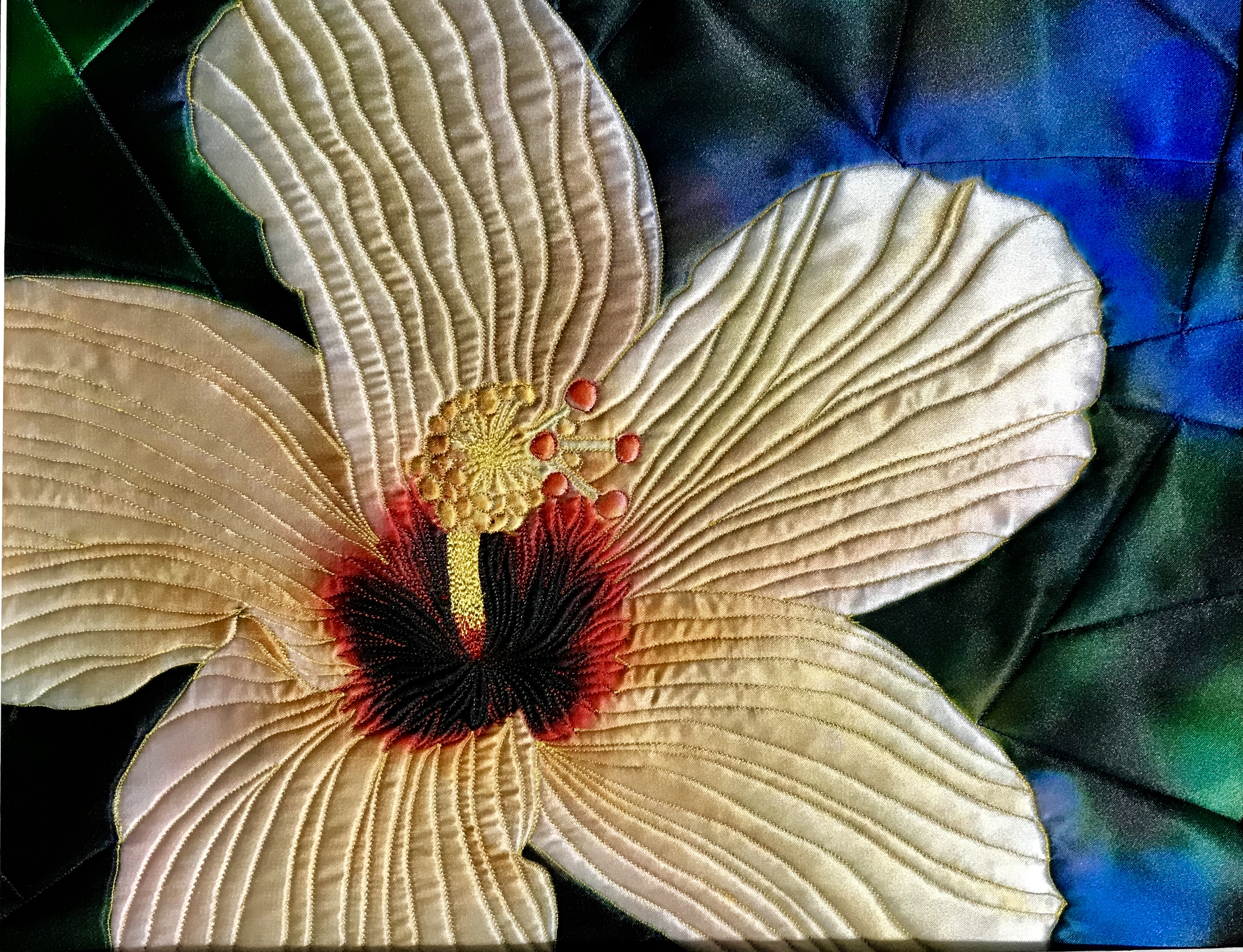 Yellow Hibiscus by Teresa Schlabach